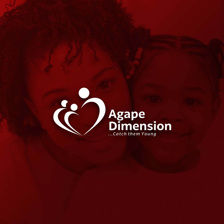 Agape Dimension Logo Design Project