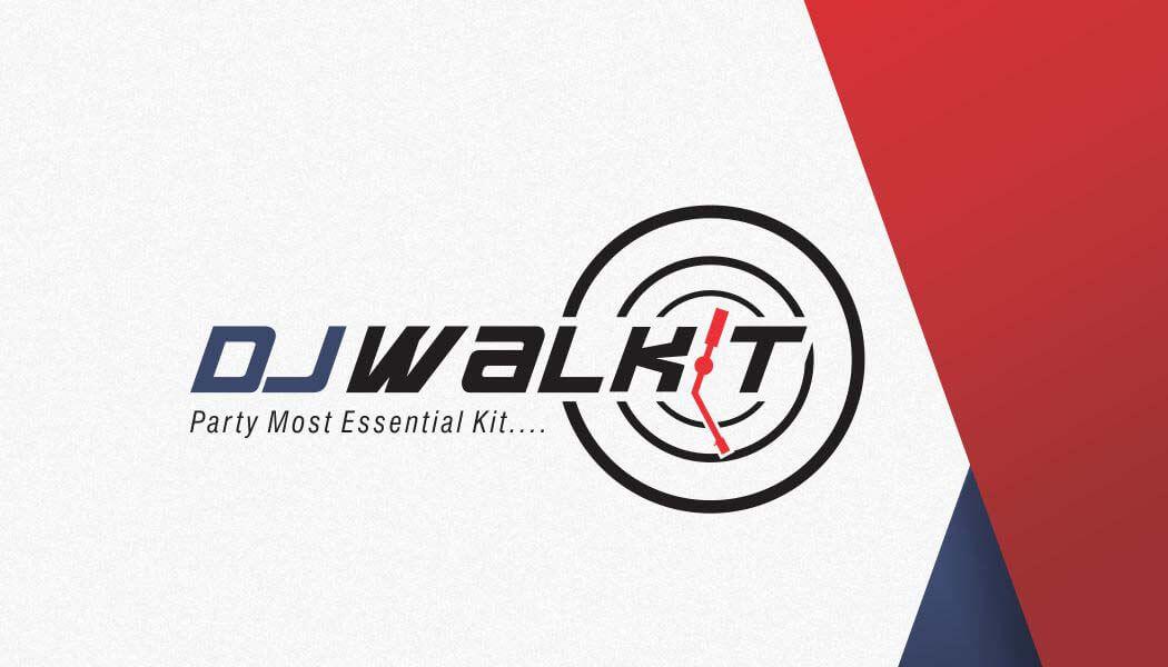 DJ Walkit Corporate Identity & Design