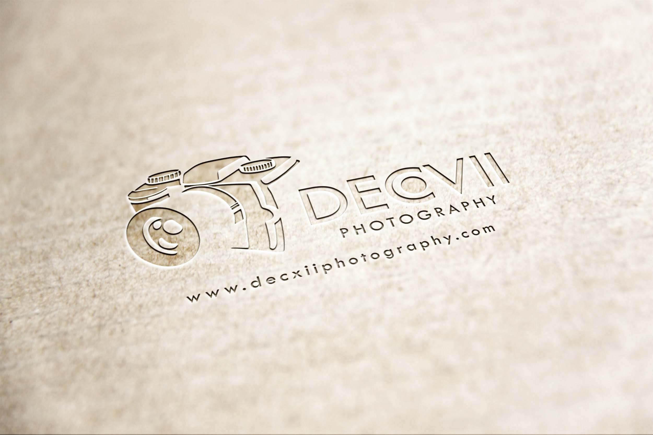 December VII Photography Logo Design