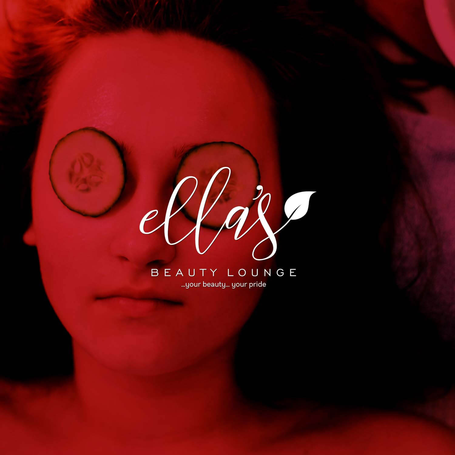 Ella's Beauty Lounge Logo Design