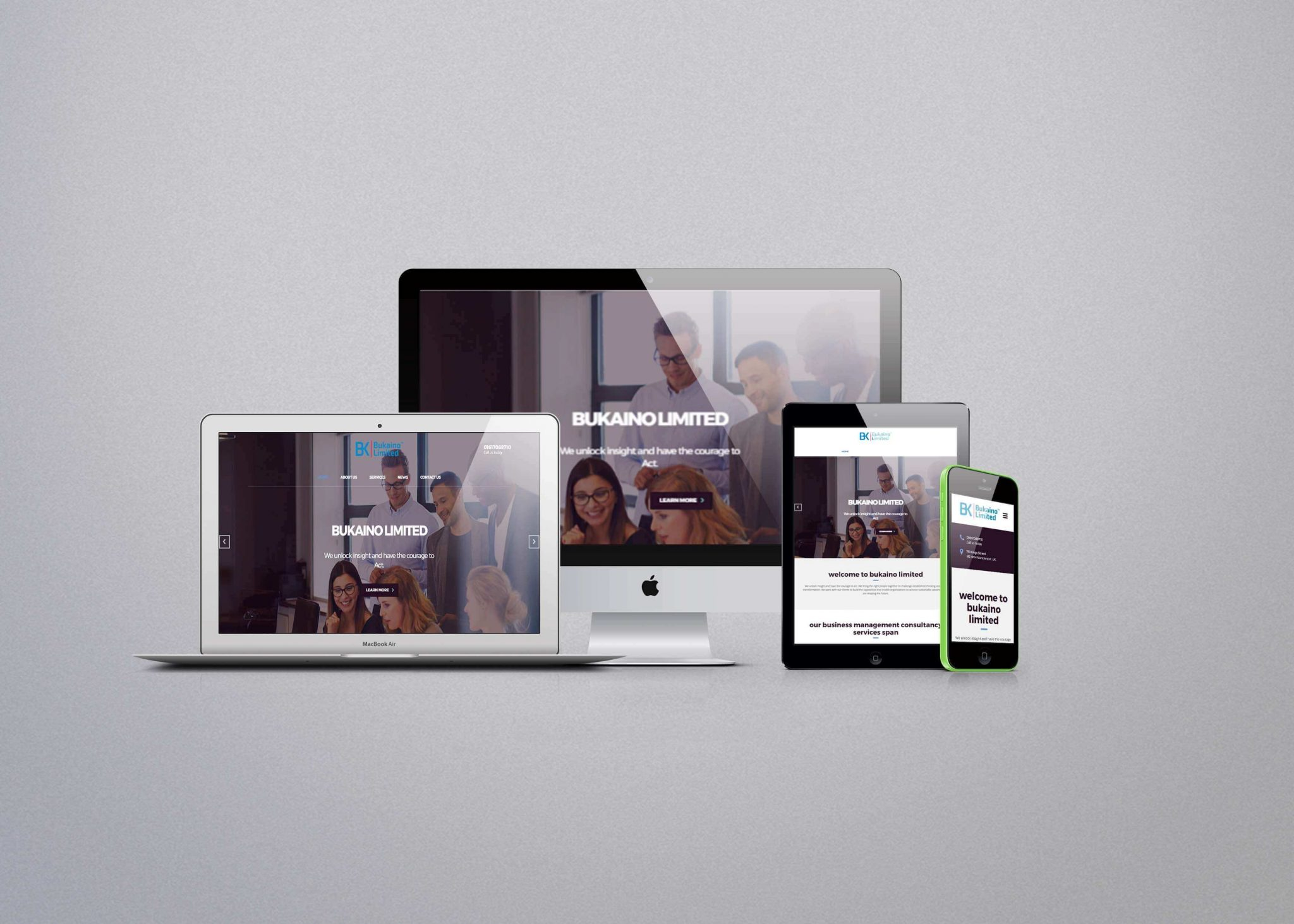 Bukaino Limited Website Design and Development