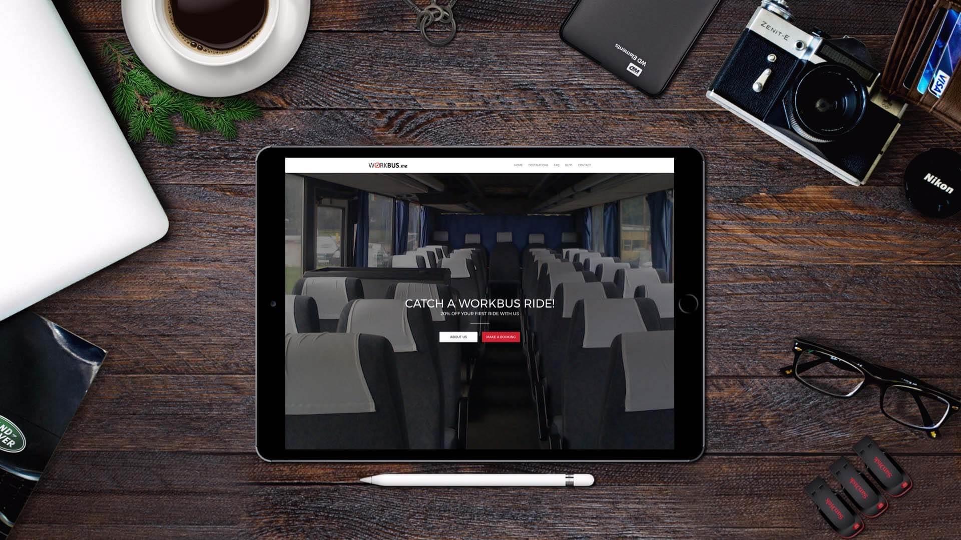 Workbus Website Design and Development