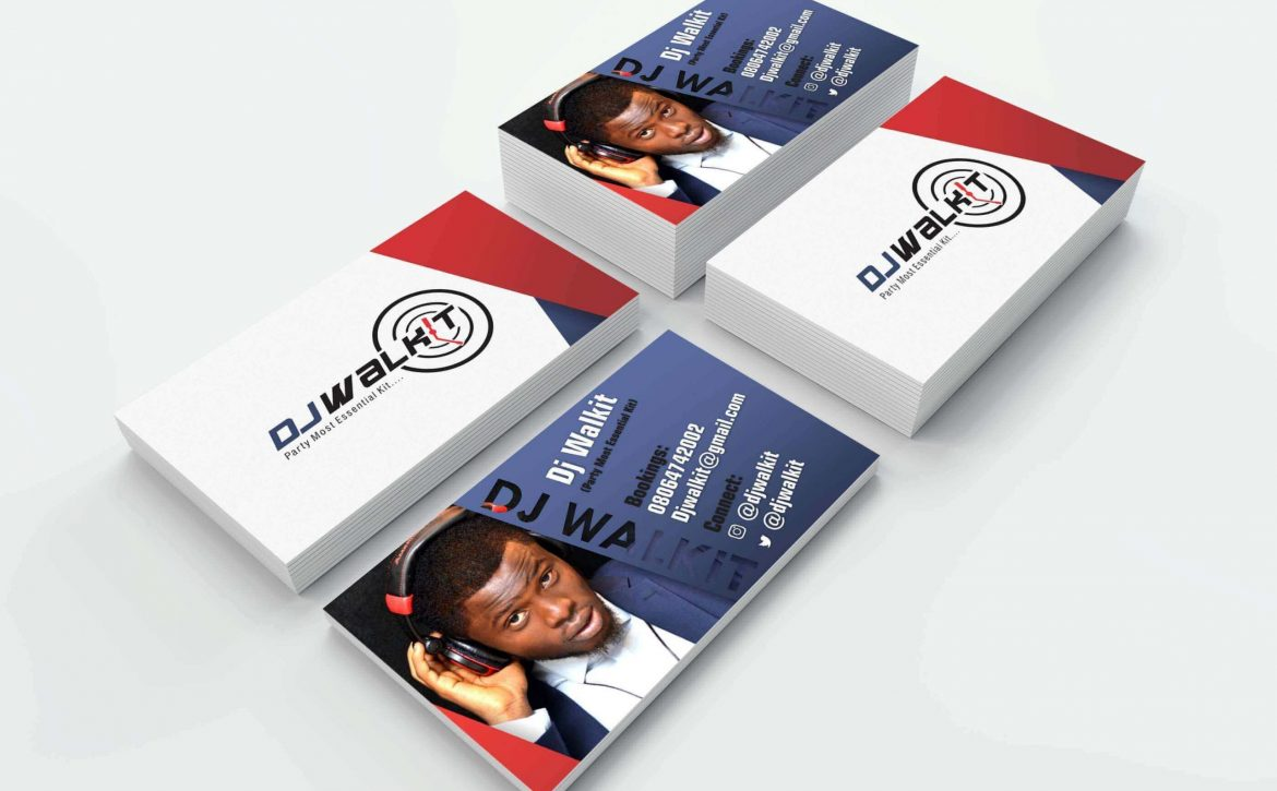 DJ Walkit Corporate Identity & Design