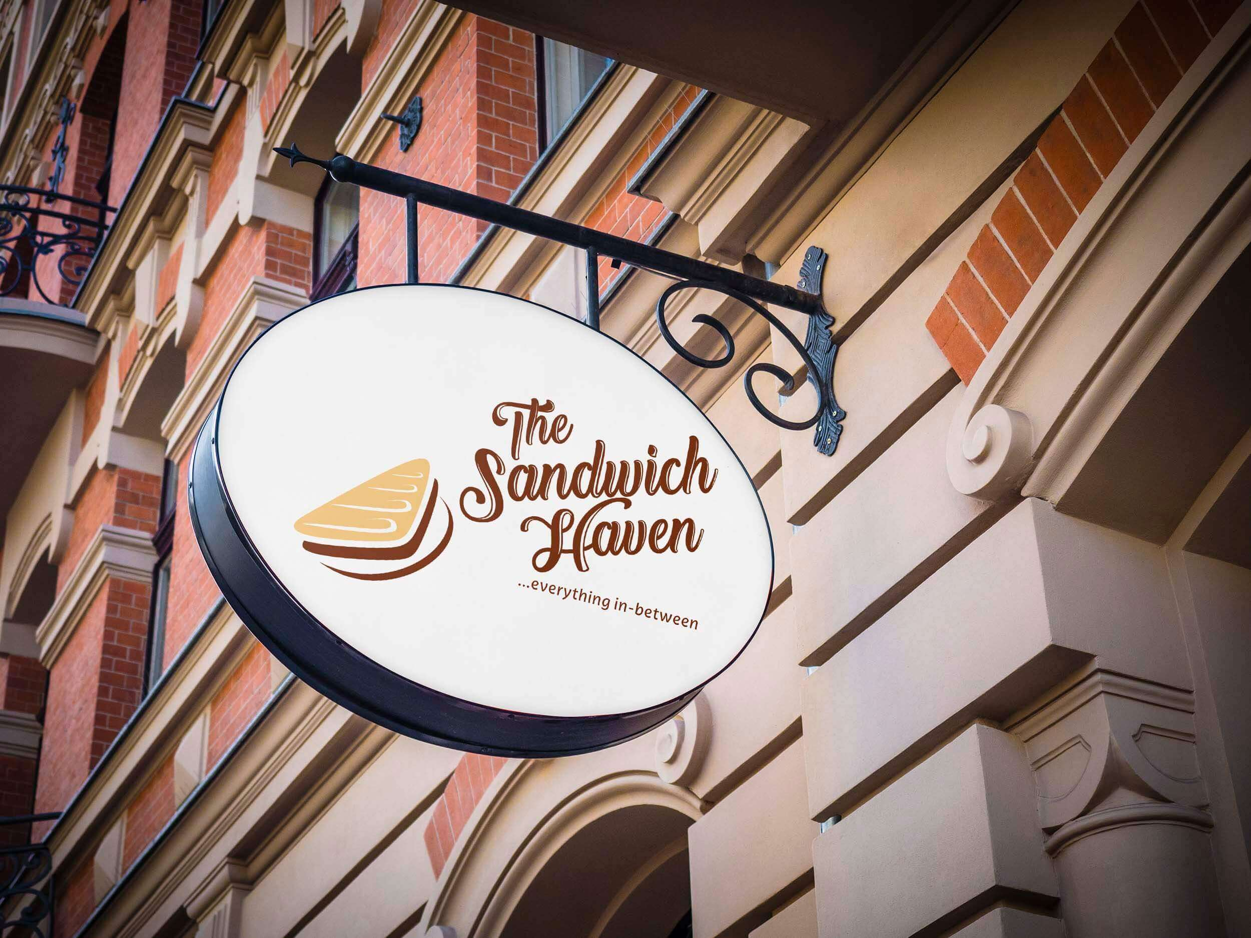 Sandwich Haven Logo Design & Corporate Identity