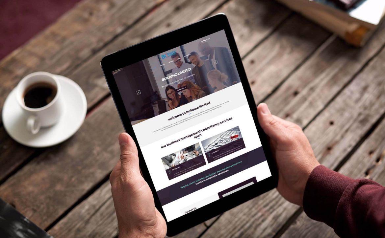 Bukaino Limited Website Design and Development