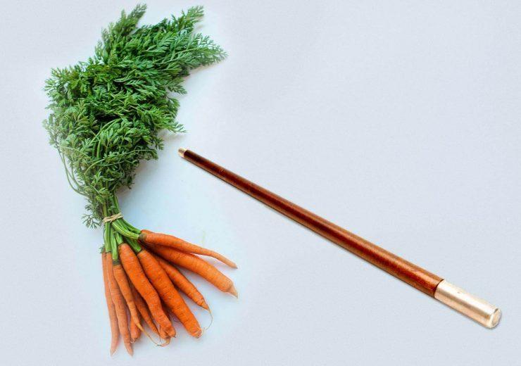 Carrot & Stick Approach