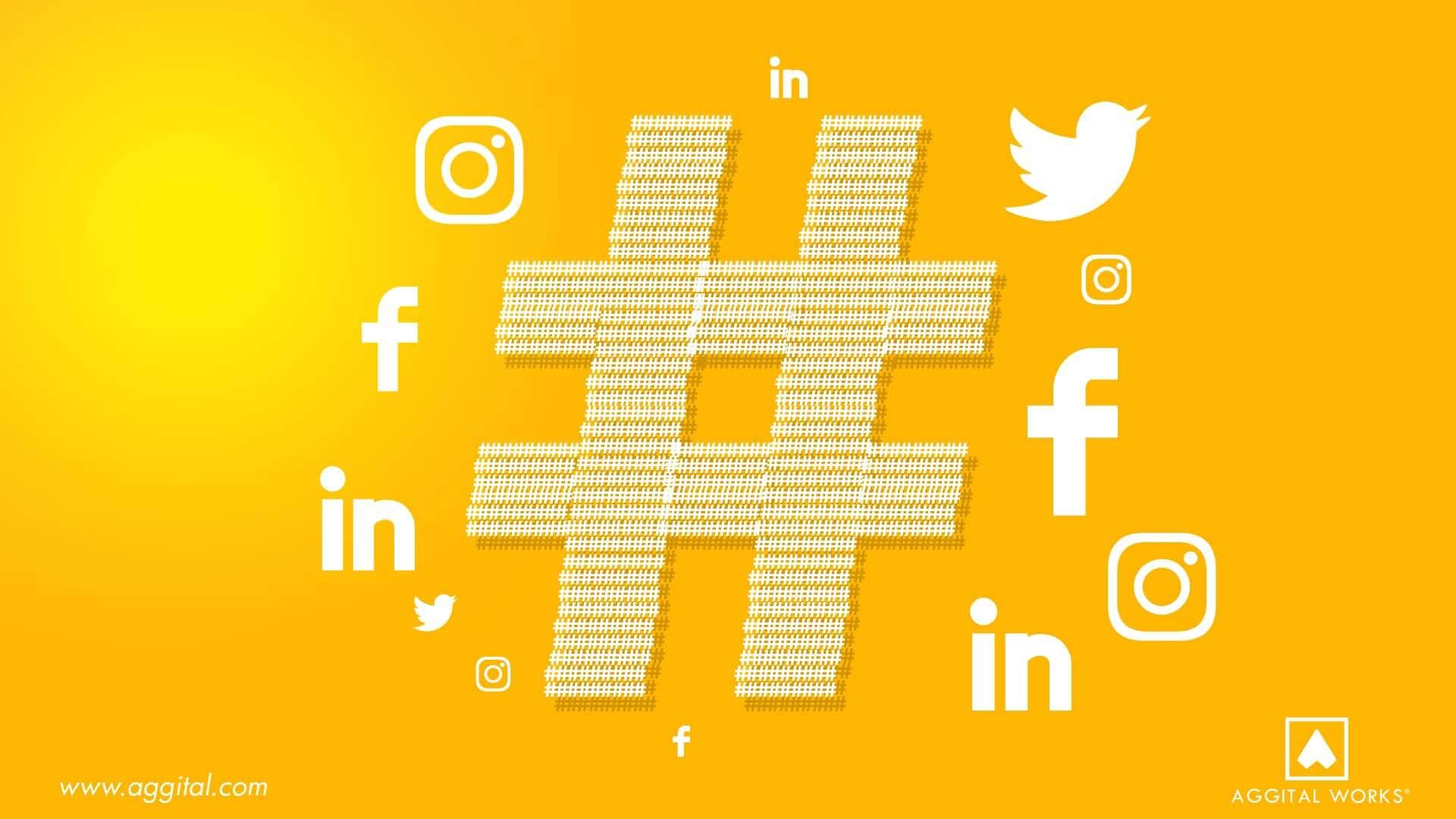 Hashtags Digital marketing