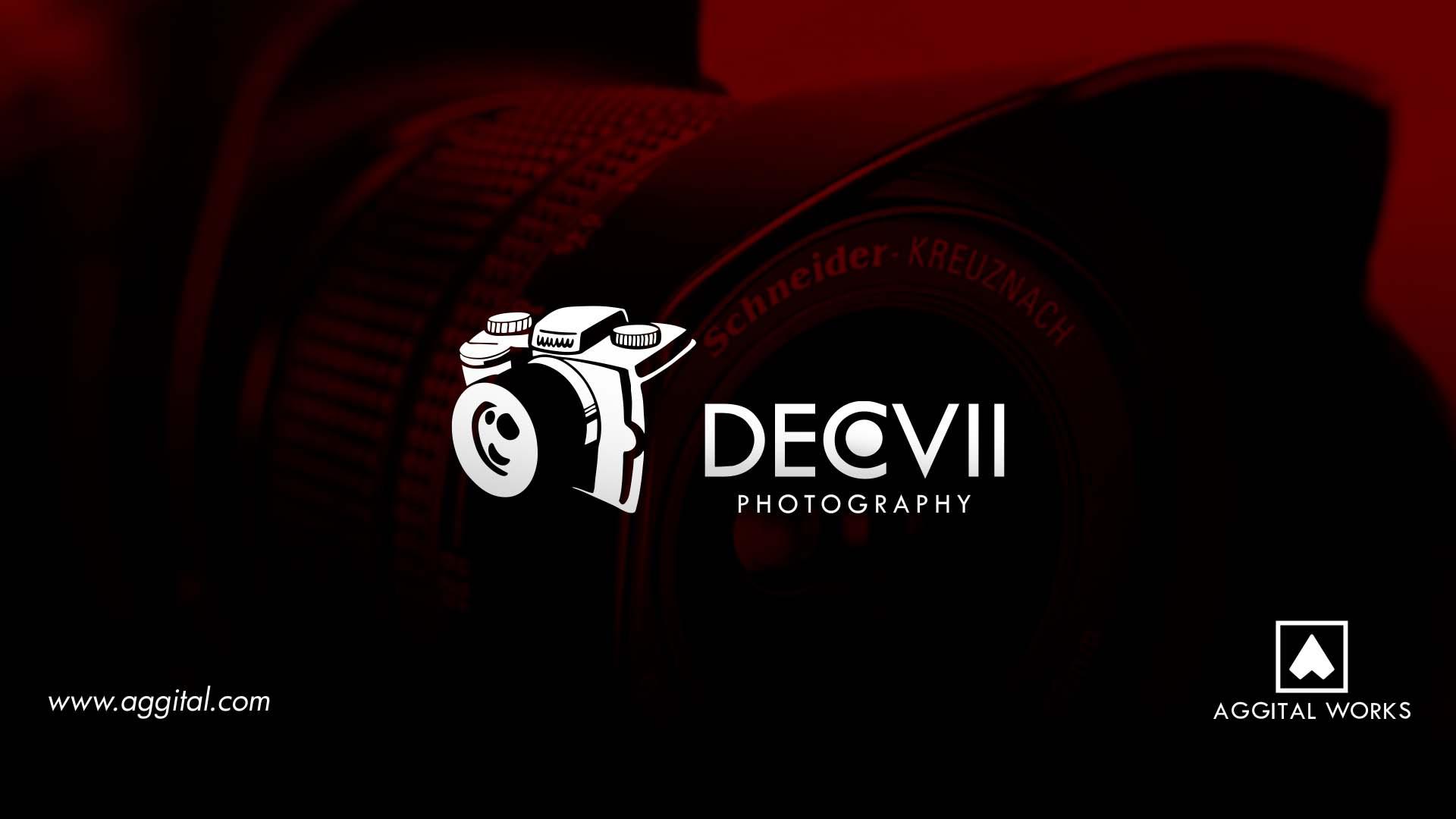 December VII Photography - Logo Design