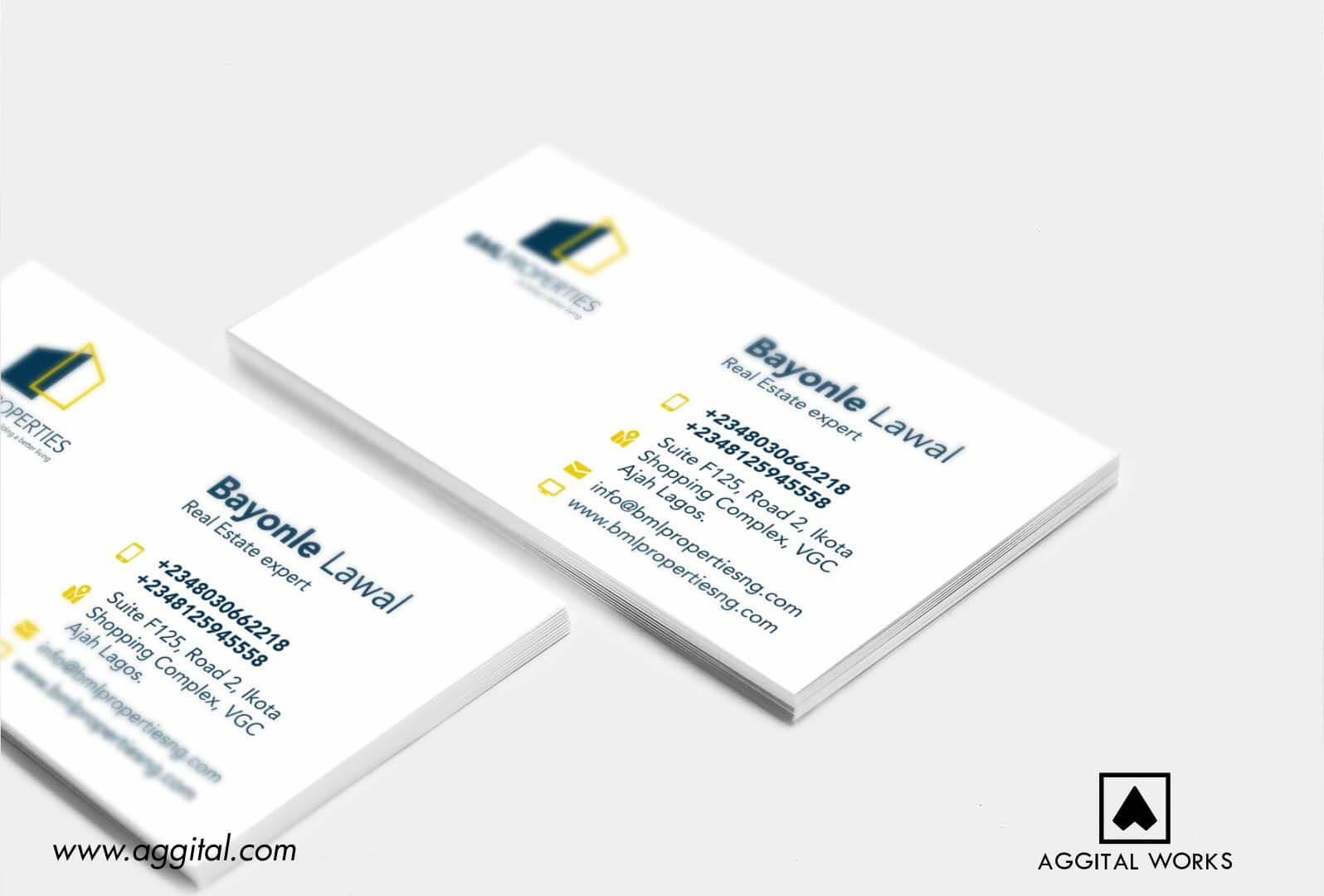 BML Properties – Logo Design And Business Card