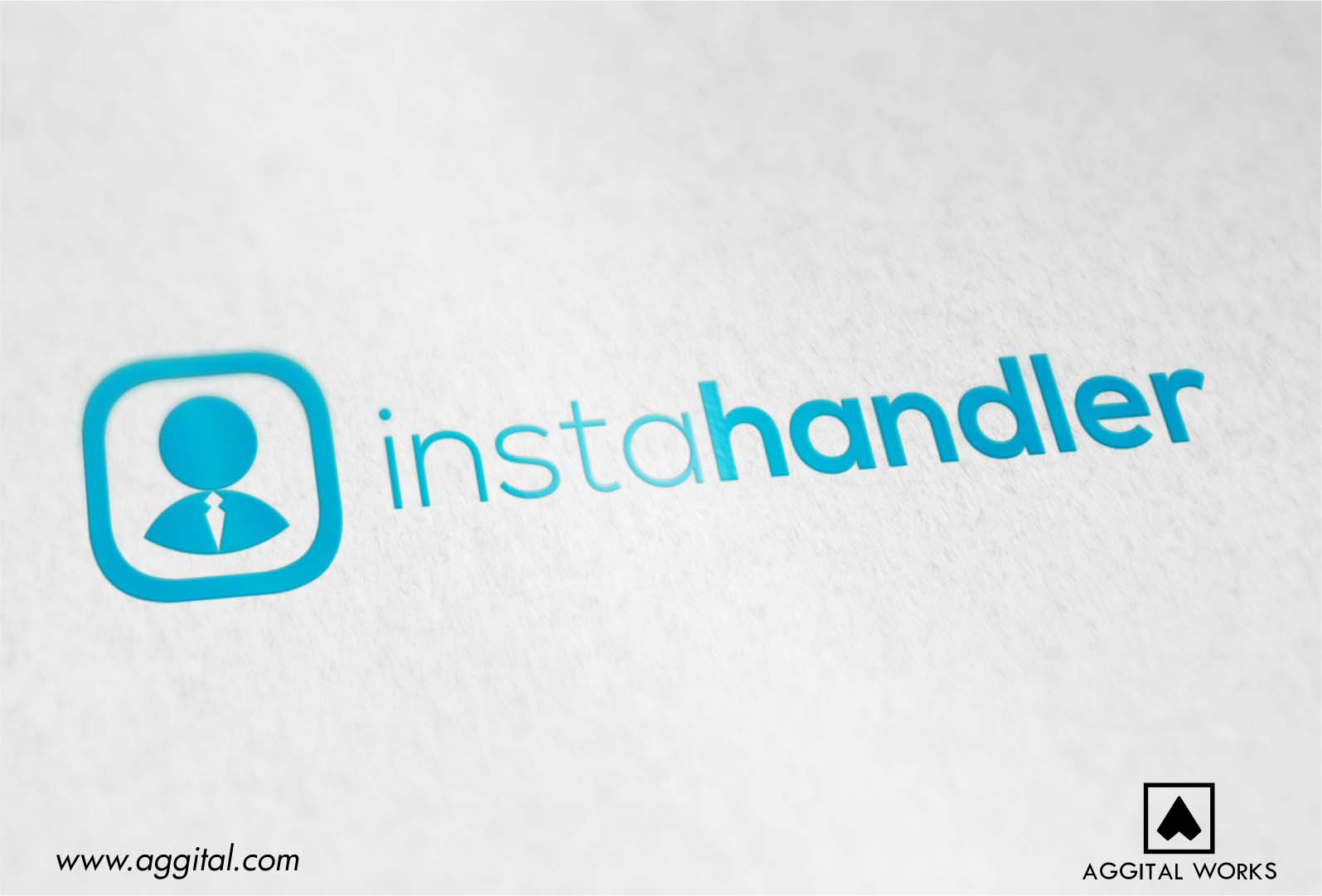 InstaHandler – Logo Design For An Instagram Management Tool