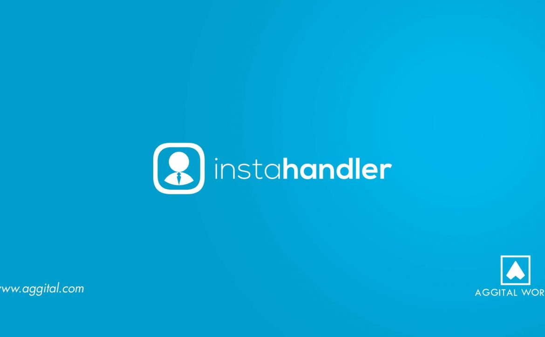 InstaHandler – Logo Design For An Instagram Management Tool