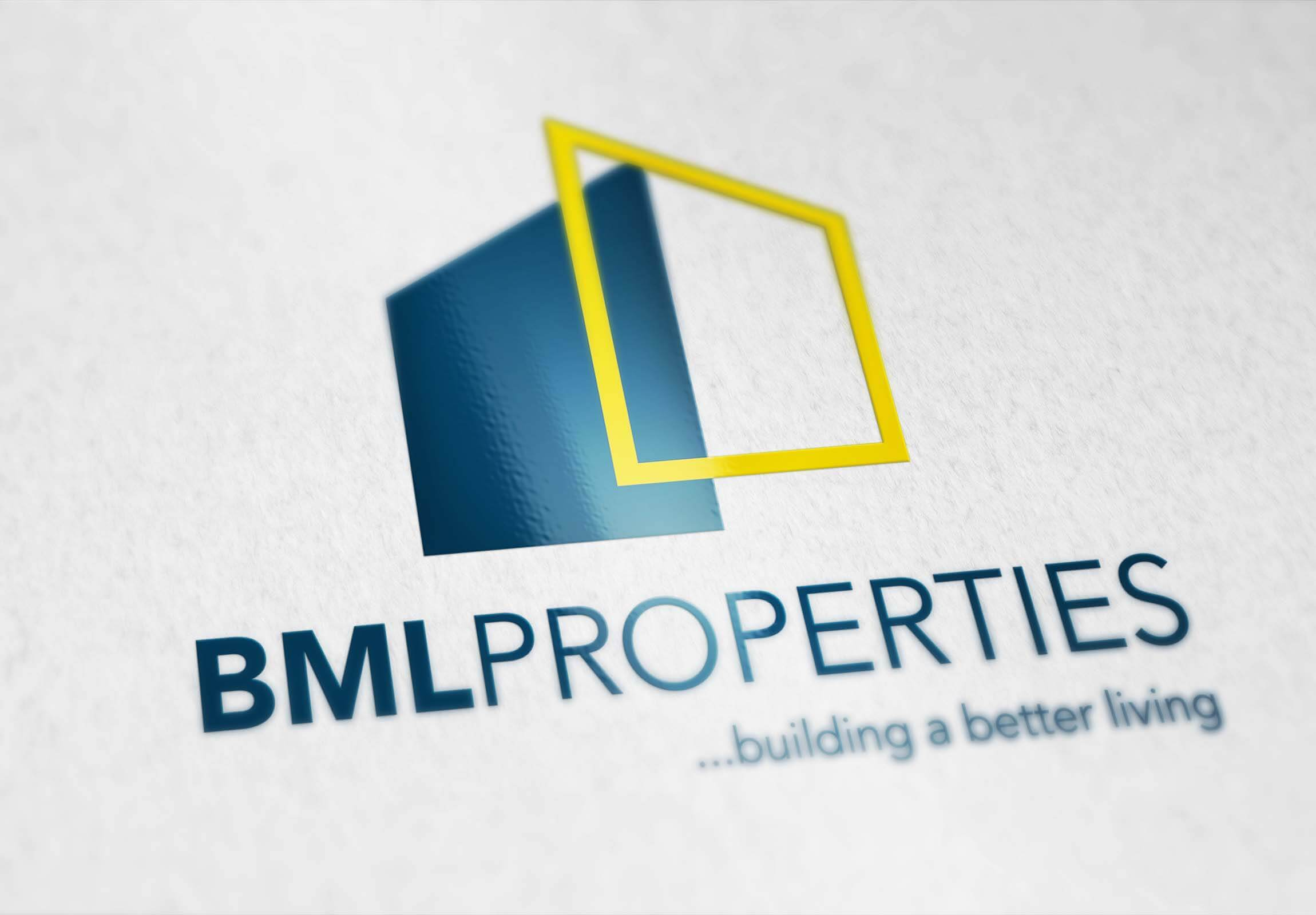 BML Properties – BML Logo Design & BML Business Card