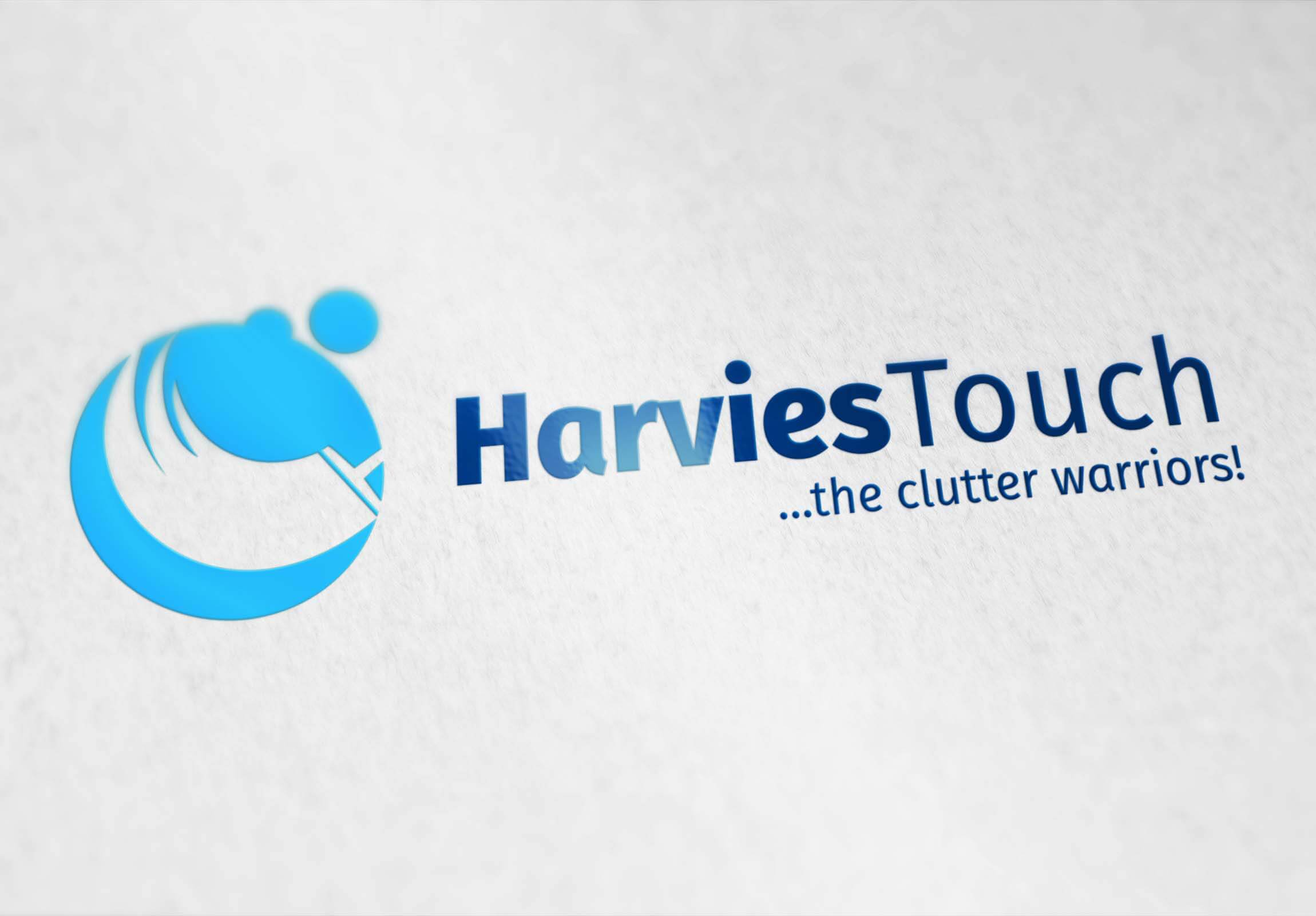 Harvies Touch Logo Design and Business Card by Aggital Works