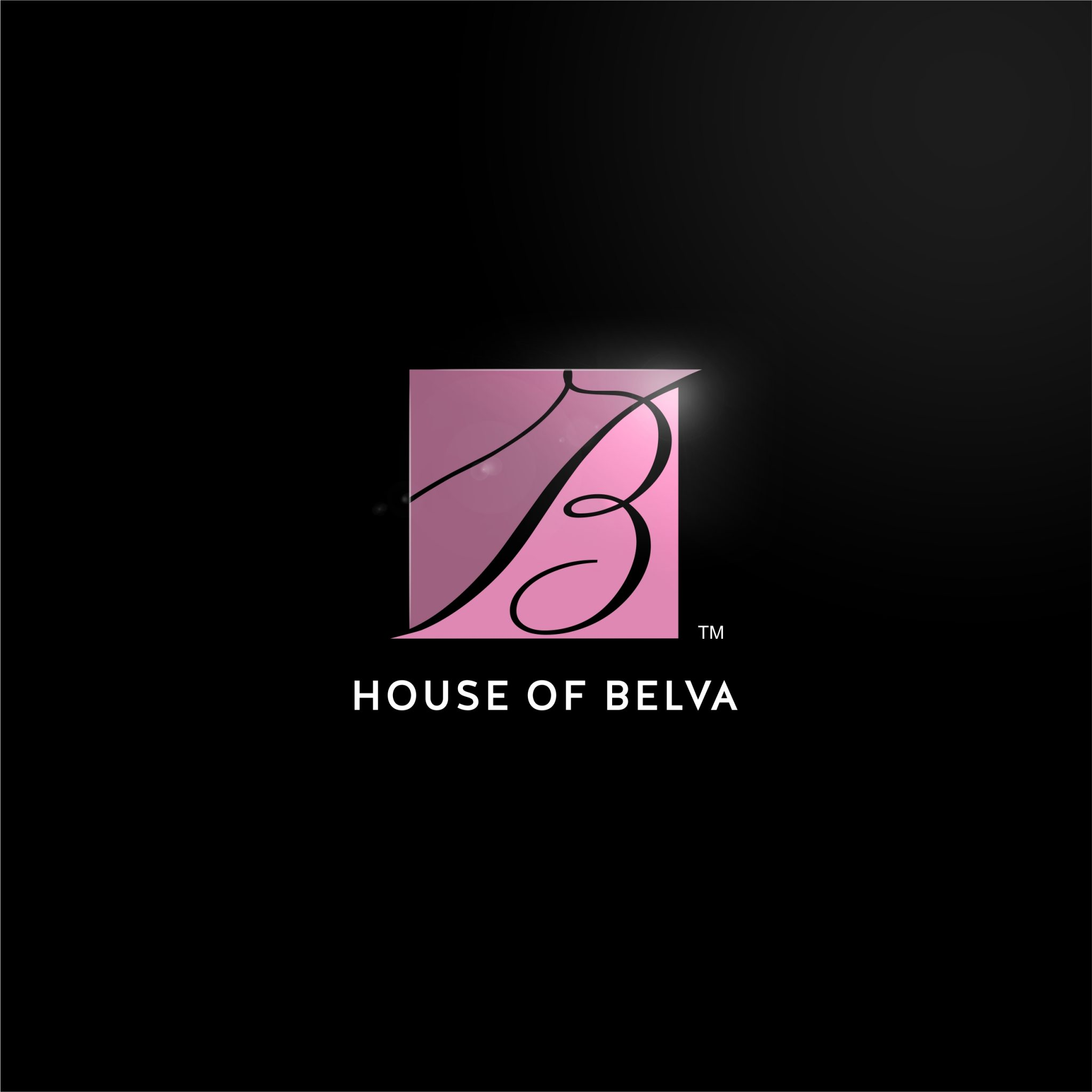 House of Belva Logo Design & Business Card