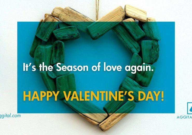 It's The Season Of Love, Happy Valentines Day!