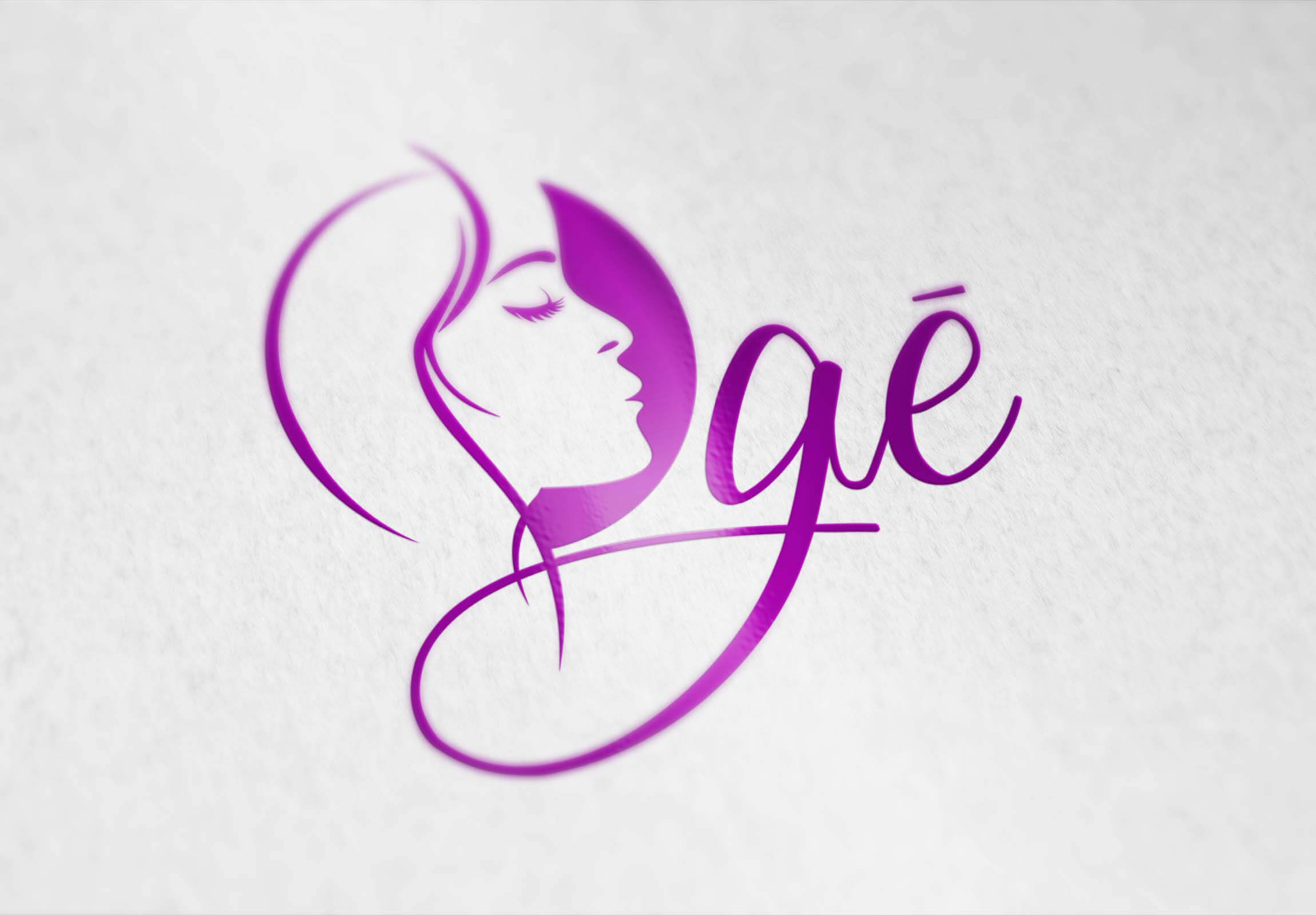 Oge Logo Design - A Beauty Brand For Ladies