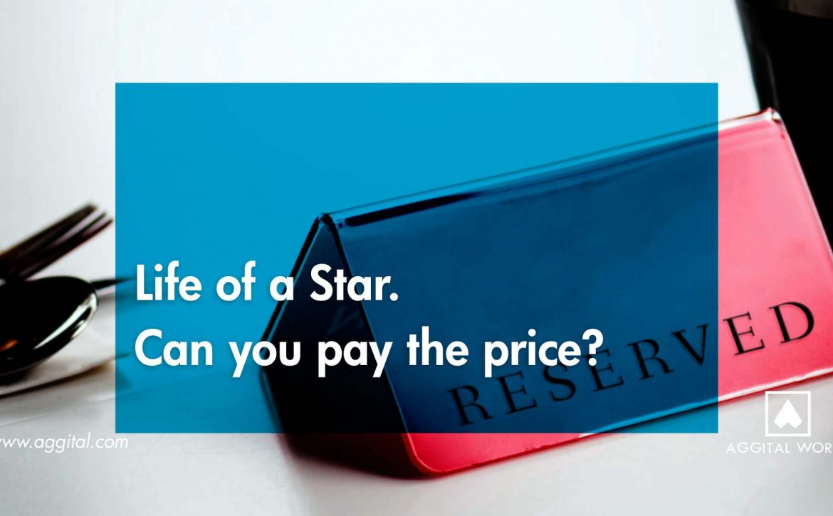 Life of a star. Can you pay the price?
