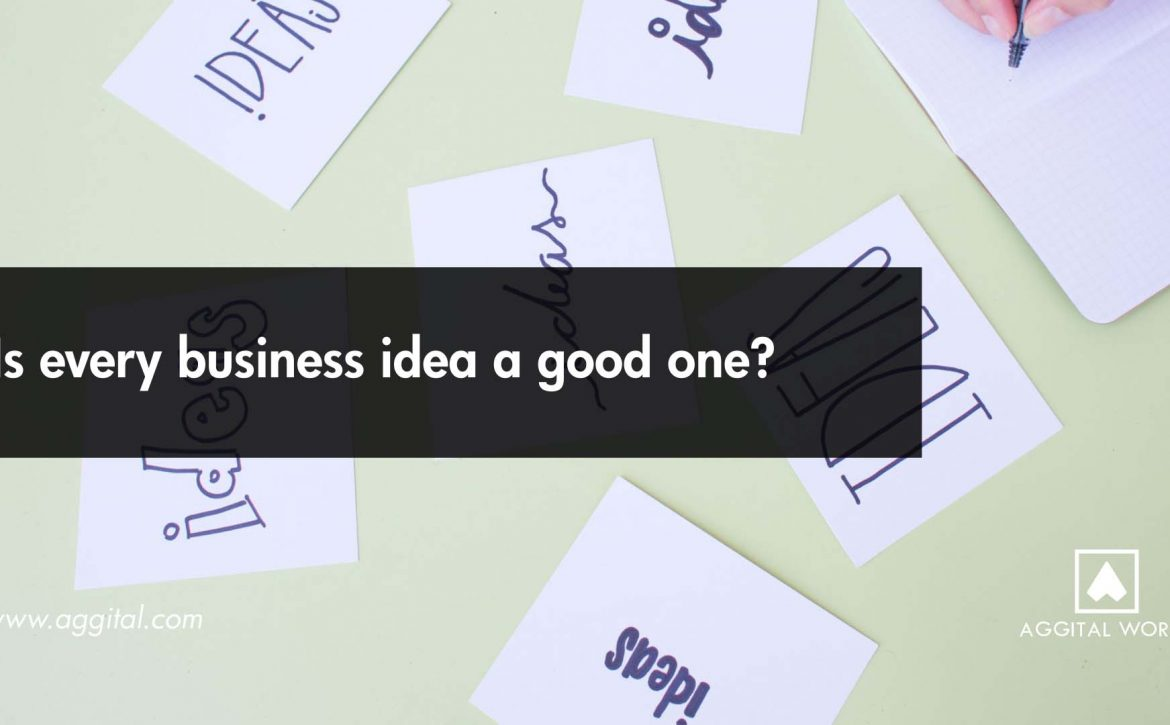Is Every Business Idea a Good One?